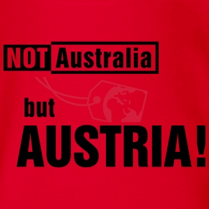 Not Australia but Austria Sweats - Body bébé bio manches courtes