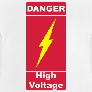 Danger! High Voltage! Flash 2c Magliette - Maglietta per neonato