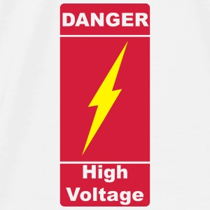 Danger! High Voltage! Blitz 2c Accessoires - T-shirt Premium Homme