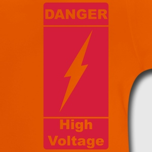 Danger ! High Voltage ! Lyn 1c Skjorter - Baby-T-skjorte