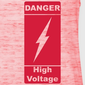 Danger ! High Voltage ! Lyn 1c Skjorter - Singlet for kvinner fra Bella
