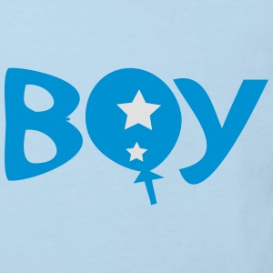 Boy text logo Baby Long Sleeve One Piece - Kids' Organic T-shirt