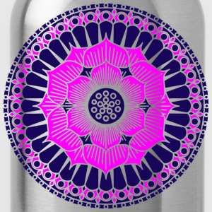 Lotus Blüte, Symbol Erleuchtung, Yoga, Meditation T-Shirts - Water Bottle
