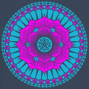 Lotus Blüte, Symbol Erleuchtung, Yoga, Meditation Tee shirts - T-shirt manches longues Premium Homme