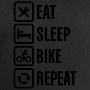 Eat sleep bike repeat  Shirts - Men's Sweatshirt by Stanley & Stella