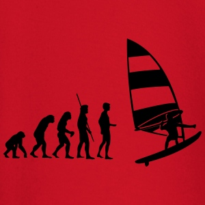 Windsurfer Evolution  T-shirts - T-shirt