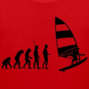 Evolution Windsurfer Shirt - Männer Premium Tank Top