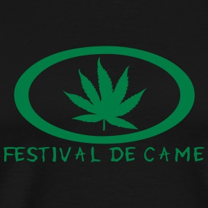 festival came feuille canabis drogue Sweat-shirts - T-shirt Premium Homme
