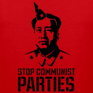 Stop communist parties Shirts - Mannen Premium tank top