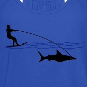 Shark Water  T-shirts - Dame tanktop fra Bella