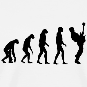 bass player evolution Sonstige - Männer Premium T-Shirt