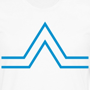 triangle sign T-Shirts - Men's Premium Longsleeve Shirt