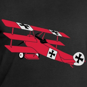 Fokker Roter Baron Red Air Combat First World War  Camisetas - Sudadera hombre de Stanley & Stella