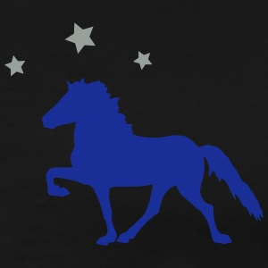 Horse with Stars Gensere - Premium T-skjorte for menn