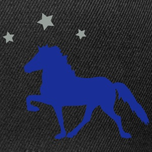Horse with Stars Sweat-shirts - Casquette snapback