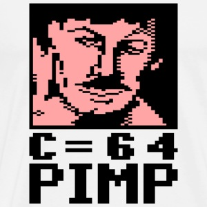 C64 Pimp Tony - Premium T-skjorte for menn