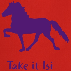 Islandpferd - Take it Isi T-skjorter - Kokkeforkle