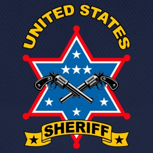sheriff united states Tee shirts - Casquette classique