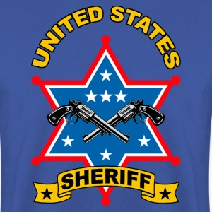 sheriff united states Tee shirts - Sweat-shirt Homme