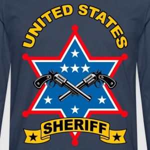 sheriff united states Tee shirts - T-shirt manches longues Premium Homme
