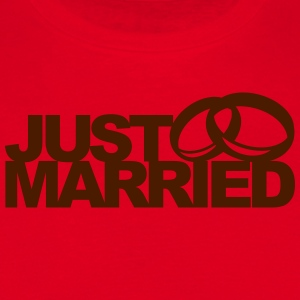Just Married Ring Tabliers - T-shirt Homme