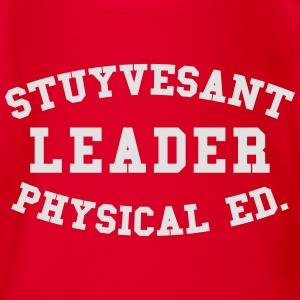 STUYVESANT LEADER PHYSICAL ED. Shirts - Organic Short-sleeved Baby Bodysuit
