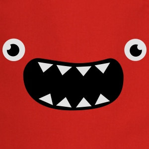 Funny Monster Face T-shirts - Förkläde