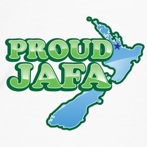 Proud JAFA with New Zealand Map   Bottles & Mugs - Men's Premium T-Shirt