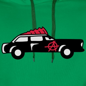 Punk Car T-skjorter - Premium hettegenser for menn
