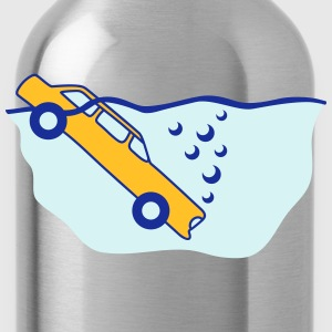 Diving Car T-Shirts - Trinkflasche
