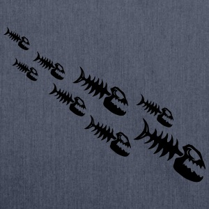 Fish Bone Monsters Tee shirts - Sac bandoulière 100 % recyclé
