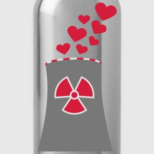 Nuclear Power Love T-Shirts - Trinkflasche