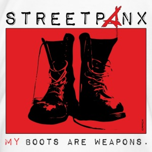 Tasse | STREETPANX | My boots are weapons. - Männer Premium T-Shirt