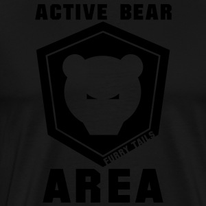 ActiveBear Tablier - T-shirt Premium Homme