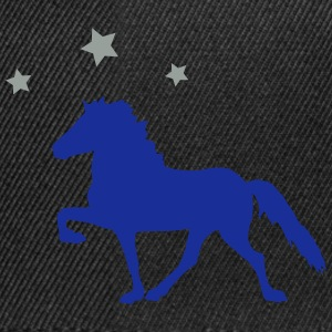 Horse with Stars Magliette - Snapback Cap