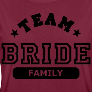 team bride family  Aprons - Women's Oversize T-Shirt
