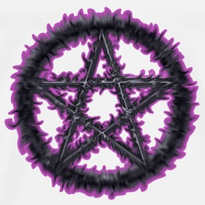 Purple Pentacle - Men's Premium T-Shirt