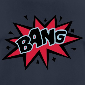 BANG, comic bubble, Sprechblase, Blase, Text, cool - Männer T-Shirt atmungsaktiv