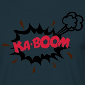 KABOOM, comic speech bubble, cartoon, word balloon Sweaters - Mannen T-shirt