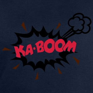 KABOOM, comic speech bubble, cartoon, word balloon - Men's Sweatshirt by Stanley & Stella