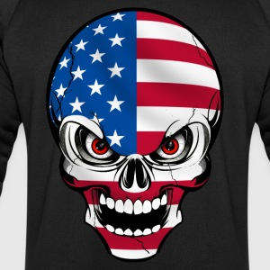 United States skull Tee shirts - Sweat-shirt Homme Stanley & Stella