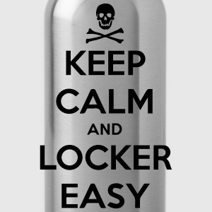 keep calm & locker easy - Trinkflasche
