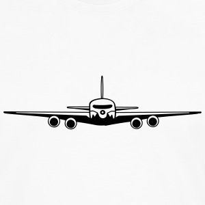 flugzeug Tee shirts - T-shirt manches longues Premium Homme