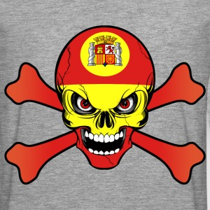Spain Espagne skull Hoodies & Sweatshirts - Men's Premium Longsleeve Shirt