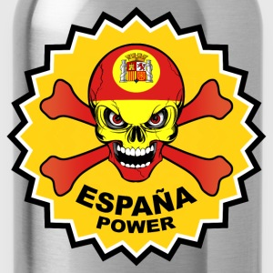 Spain power skull T-Shirts - Water Bottle