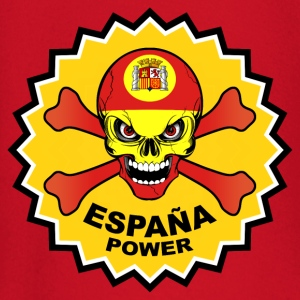 Spain power skull T-Shirts - Baby Long Sleeve T-Shirt