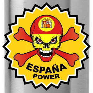 Spain power skull Hoodies & Sweatshirts - Water Bottle