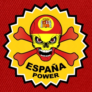 Spain power skull Sudaderas - Gorra Snapback