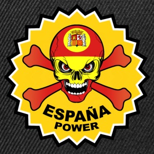 Spain power skull T-Shirts - Snapback Cap