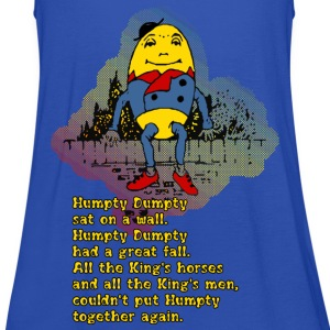 Humpty Dumpty Kinderreim - Frauen Tank Top von Bella